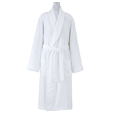 CREAM BATH ROBE